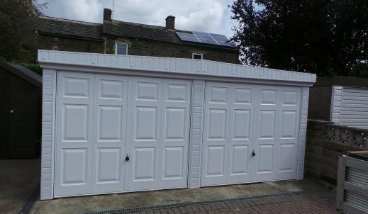 Grimston Garage Refurbishment Huddersfield